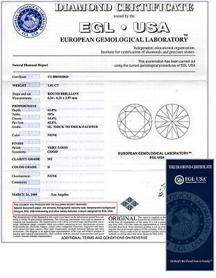 EGL sertifikatas